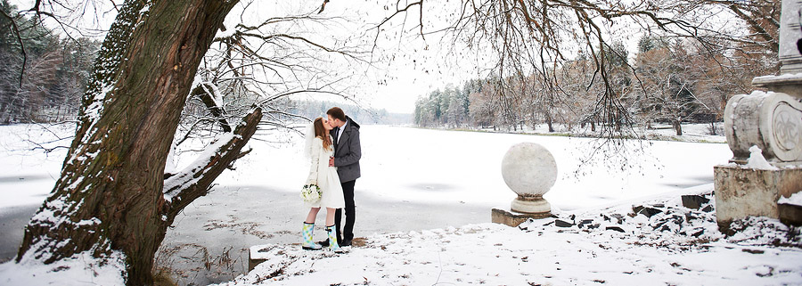 Five Ways to Ensure Gorgeous Winter Wedding Photos