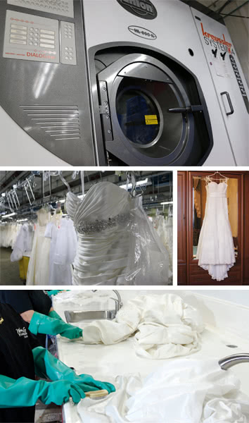 Online Wedding Dress Cleaning Service
