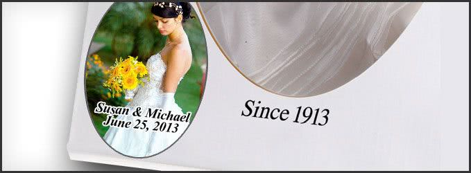 Wedding Gown Preservation Kit - Text and Photo Personalization