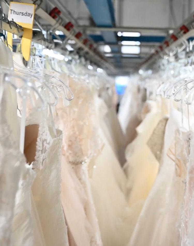 Wedding dress preservation process overview for Wedding dress preservation kit