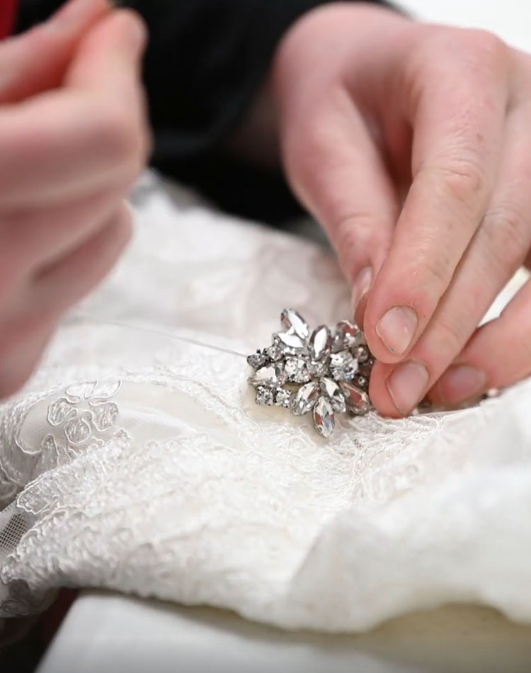 Wedding Dress Preservation Process Overview