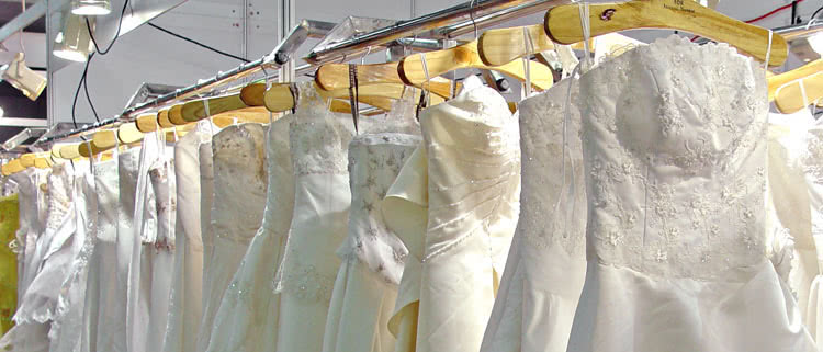 The difference between DIY and professional wedding gown preservation