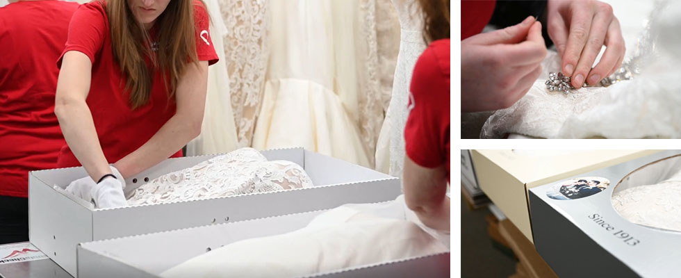 wedding dress repairs and preservation