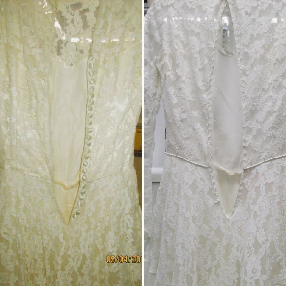 Wedding Gown Restoration and Cleaning