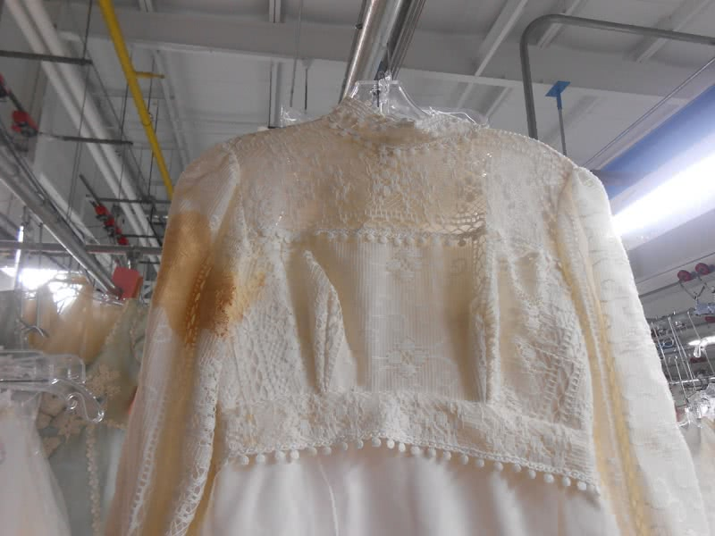 Gown Before Restoration