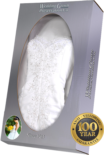 Celebrity Wedding Gown Preservation Kit