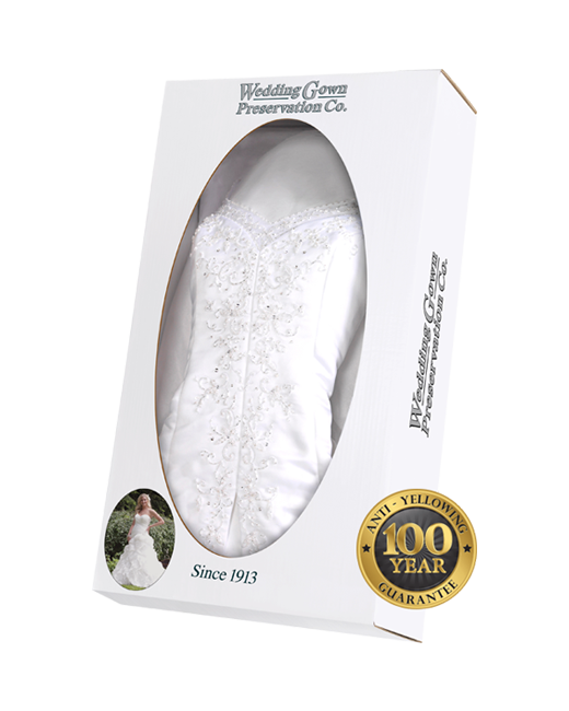 Wedding Dress Preservation & Cleaning | Wedding Gown Preservation Kit