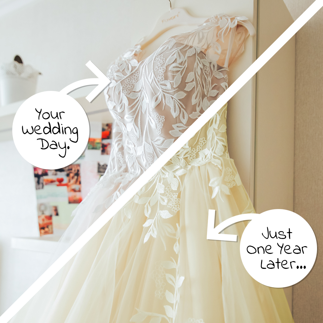 Learn More About Our Best Selling Wedding Gown Restoration Kit