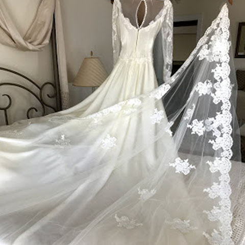 Lyn Wedding Dress Restoration Review