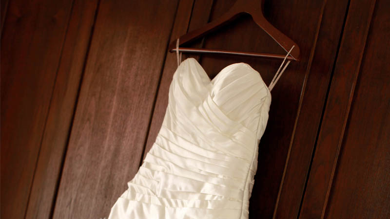 Sending Your Wedding Dress for Cleaning